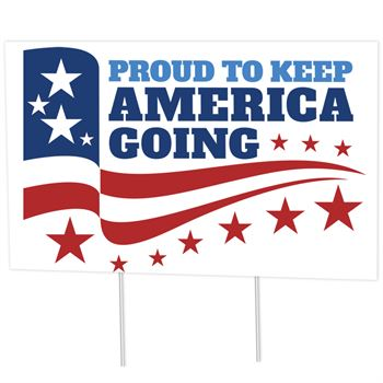 Proud To Keep America Going 18
