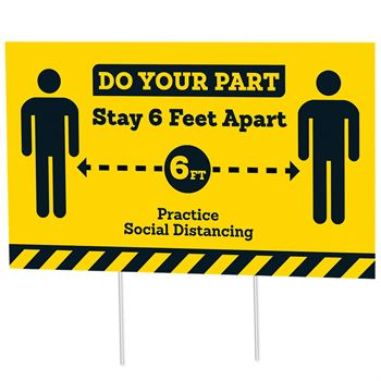 Practice Social Distancing 18