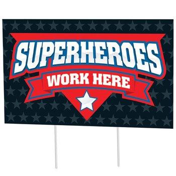 Superheroes Work Here 18