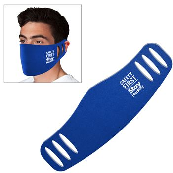 Stretchable Polyester Face Mask with 1-Color Personalization Available