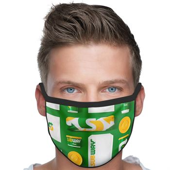American Made 3-Ply Polyester Face Mask - Full Color Personalization