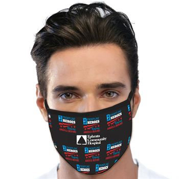 Frontline Heroes American Made 3-Ply Face Mask - Personalization Available