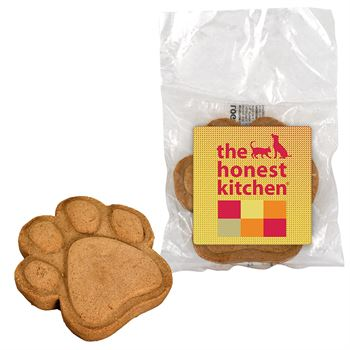 Paw Print Dog Cookie Colorful