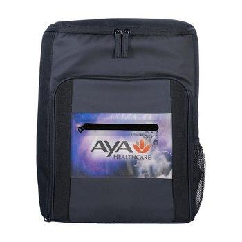 Full Color Pocket Cooler Backpack