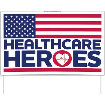 Health Care Heroes Flag 22.5