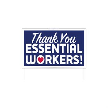Thank You Essential Workers 22.5