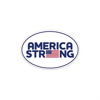 America Strong Bumper Sticker - Oval