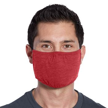 3-Ply District V.I.T. Shaped Adult Face Mask - Blank