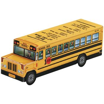 Rules Of The Bus Paper Cutout