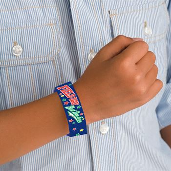 Field Day: Best Day Ever 2-Sided Royal Blue Paper Bracelets