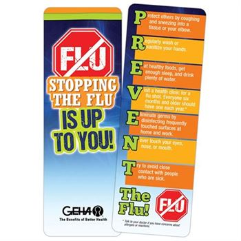 Stopping The Flu Is Up To You! Bookmark - Personalization Available