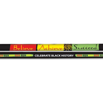 Believe, Achieve, Succeed Full-Color Pencil