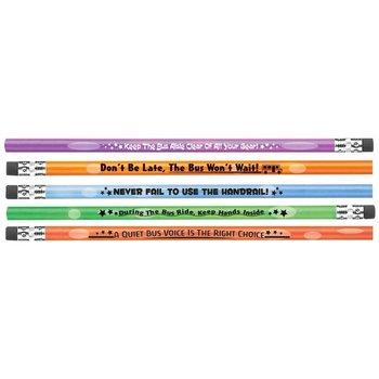 School Bus Safety Heat-Sensitive Pencil Assortment Pack