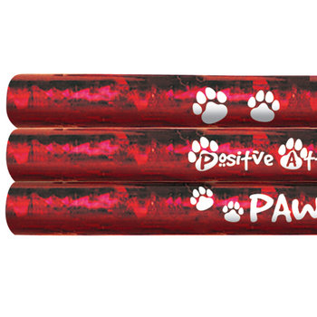 PAWS: Positive Attitudes Will Succeed Sparkle Foil Pencil
