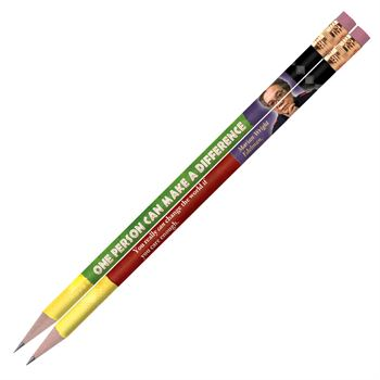 Black History Month One Person Can Make A Difference Pencil Assortment Pack