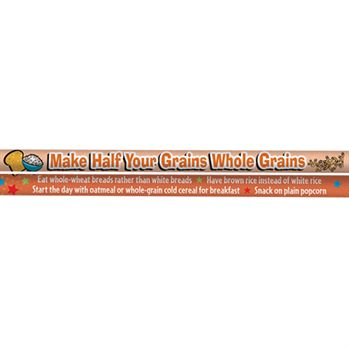 Make Half Your Grains Whole Grains MyPlate Full-Color Pencils