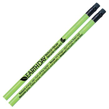 Earth Day: Reduce, Reuse, Recycle, Respect Heat-Sensitive Pencils - Pack of 30