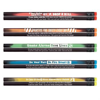 Mood Shadow Pencil Assortment Pack With Fire Safety Tips