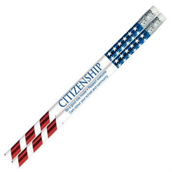 Citizenship Sparkle Foil Pencil