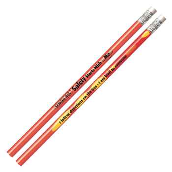 School Bus Safety Starts With Me Heat-Sensitive Pencil