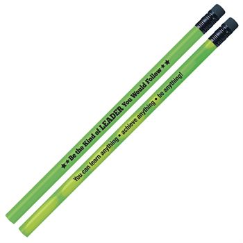 Be The Kind Of Leader You Would Follow Growth Mindset Pencils - Pack of 25
