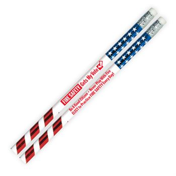 Fire Safety Gets My Vote Pencil - Pack of 100