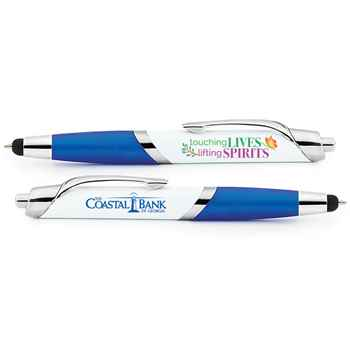 Touching Lives Lifting Spirits Aventura Stylus Pen - Personalization Available