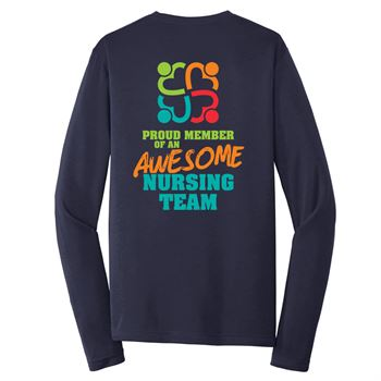 Proud Member Of An Awesome Team Long Sleeve T-Shirt - Personalization Available