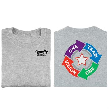 One Team One Vision 2-Sided T-Shirt - Personalization Available