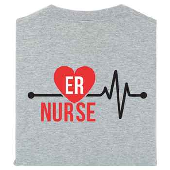 ER Nurse Positive 2-Sided T-Shirt - Personalization Available
