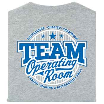 Team Operating Room Positive 2-Sided T-Shirt - Personalized