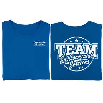 Team Environmental Services 2-Sided T-Shirt - Personalization Available