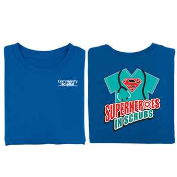 Superheroes In Scrubs 2-Sided T-Shirt - Personalized