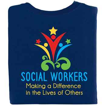 Social Workers Making A Difference In The Lives Of Others T-Shirt