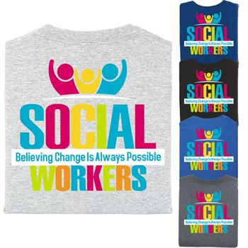 Social Worker 2-Sided T-Shirt