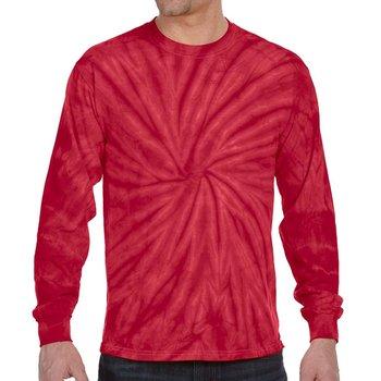 Tie-Dye Cotton Spider Long-Sleeve T-Shirt