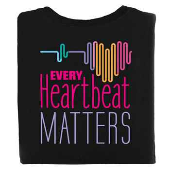 Every Heartbeat Matters 2-Sided Short Sleeve T-Shirt - Personalized