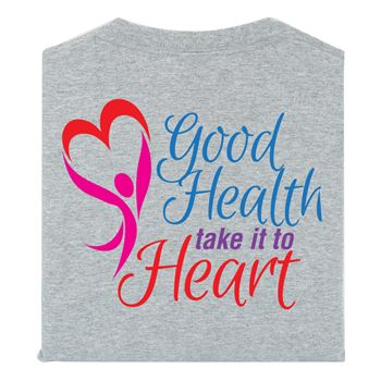 Good Health Take It To Heart 2-Sided Short Sleeve T-Shirt - Personalized
