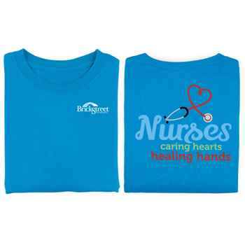 Nurses 2-Sided T-Shirt - Personalization Available
