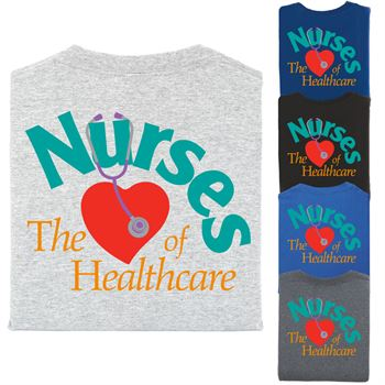 Nurses 2-Sided T-Shirt