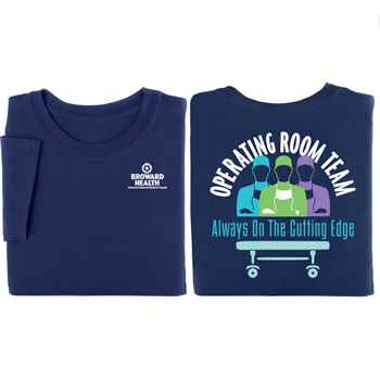 Operating Room 2-Sided T-Shirt - Personalized