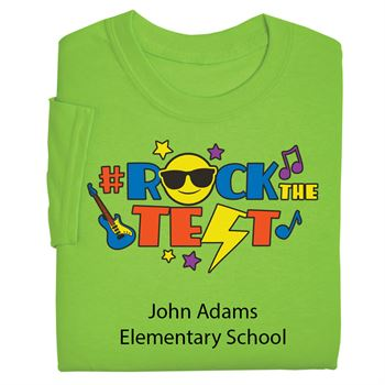 #RockTheTest Youth T-Shirt With Personalization