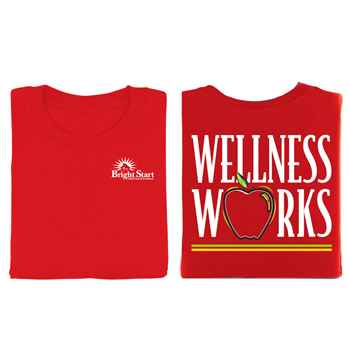 Wellness Works 2-Sided T-Shirt - Personalization Available