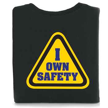 I Own Safety Two-Sided T-Shirt with Personalization