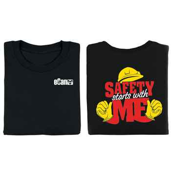 Safety Starts With Me Two-Sided T-Shirt with Personalization