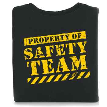 Property Of Safety Team T-Shirt