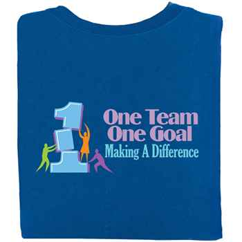 One Team One Goal Making A Difference Positive T-Shirt