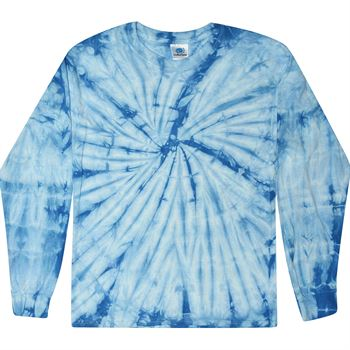 Tie-Dye Cotton Spider Long-Sleeve T-Shirt