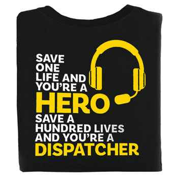 You're A Dispatcher Short-Sleeve 2-Sided T-Shirt - Personalization Available
