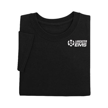 Black EMS:Serving With Pride T-Shirt
